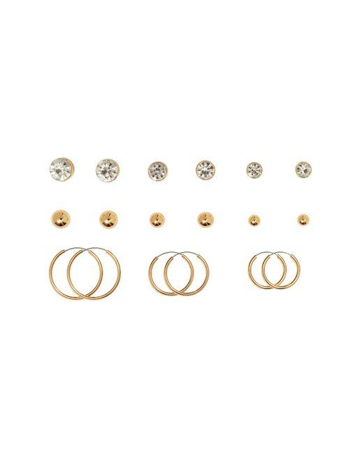H&M | Metallic 9 Pairs Earrings | Lyst
