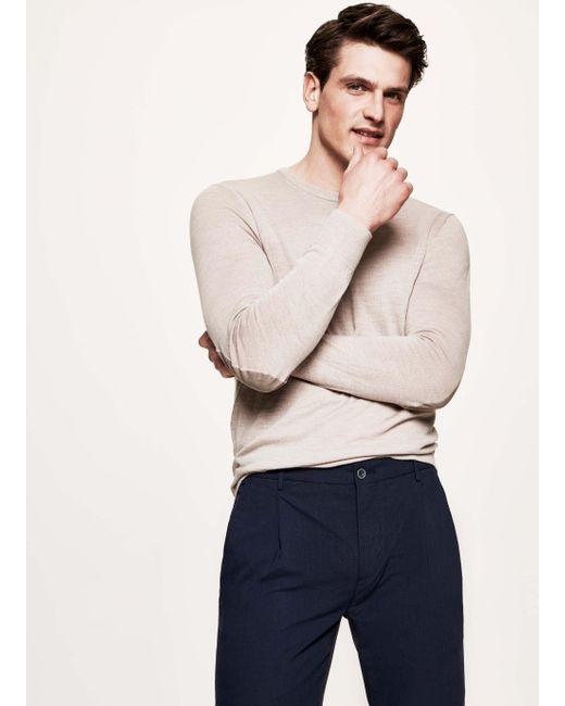 Hackett - Multicolor Elbow-patch Wool Sweater for Men - Lyst