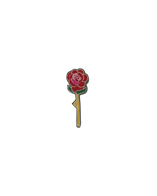 Lizzie Fortunato - Red Pen Pal Pin In Rose - Lyst