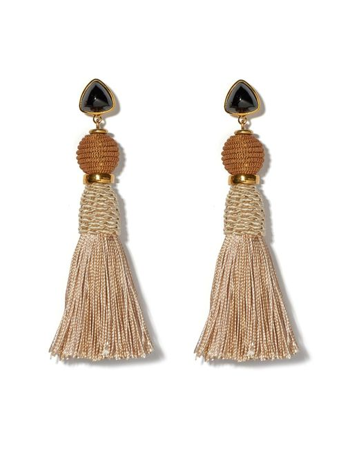 Lizzie Fortunato - Natural Modern Craft Earrings In Sand - Lyst