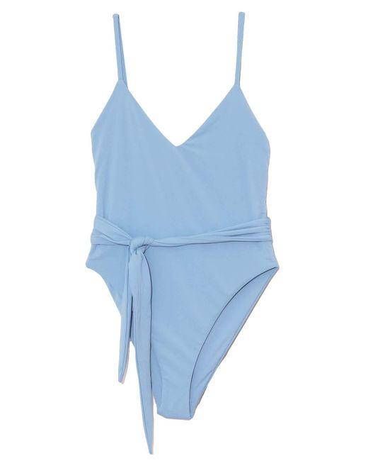 Mara Hoffman Blue Gamela Swimsuit