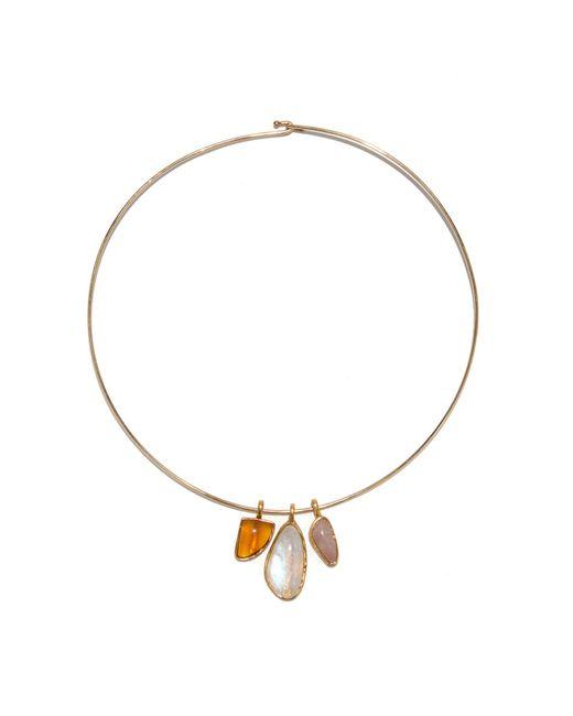 Lizzie Fortunato - Metallic Best Lady Necklace In Constellation - Lyst