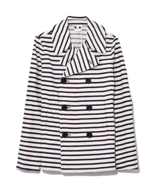 Aspesi - Double Stripe Jacket In Natural - Lyst