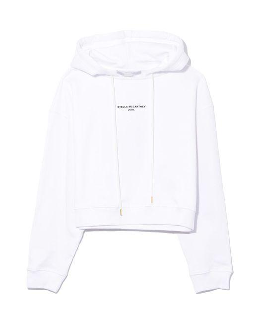 Stella McCartney 2001 Sweatshirt In Pure White