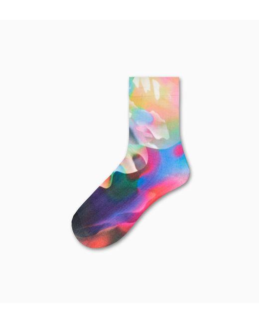 Mia Ankle Sock Happy Socks de color Multicolor