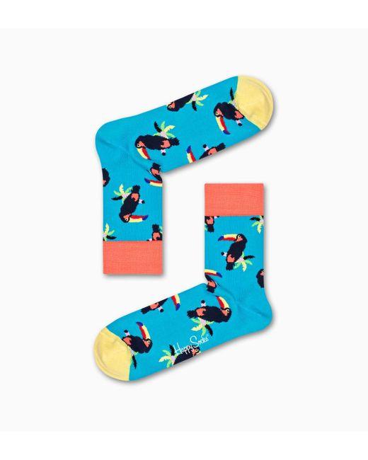 Toucan 1/2 Crew Sock Happy Socks de color Multicolor
