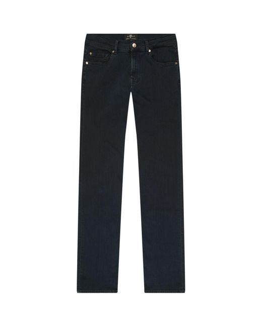 7 For All Mankind - Blue Slimmy Clean Slim-fit Jeans for Men - Lyst
