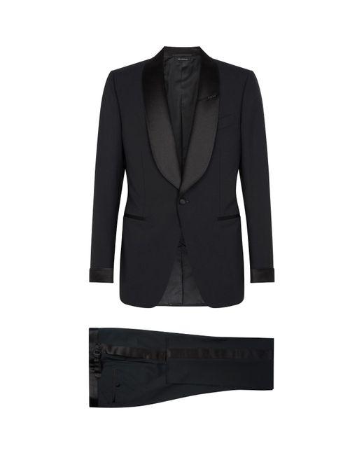 Tom Ford Black Shelton Tuxedo for men