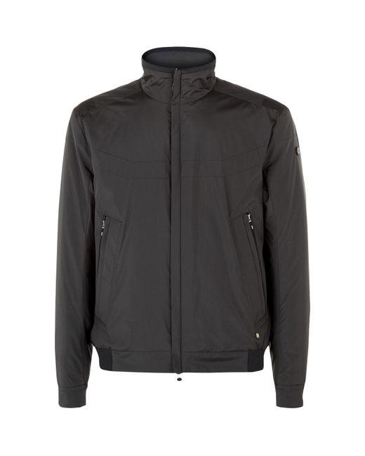BOSS Green   Black Technical Bomber Jacket for Men   Lyst