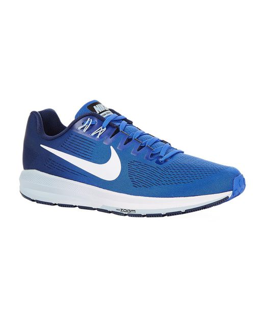 Nike   Blue Air Zoom Structure 21 Trainers for Men   Lyst