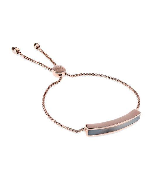 Monica Vinader - Gray Baja Chain Bracelet - Lyst