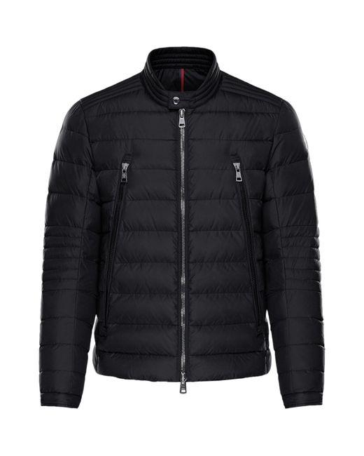 Moncler Black Amiot Down-flled Quilted Jacket for men