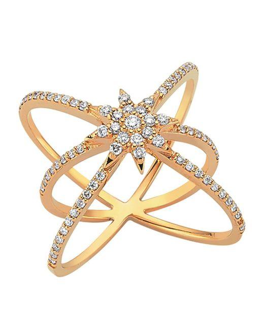 Bee Goddess - White Ishtar Star Ring - Lyst