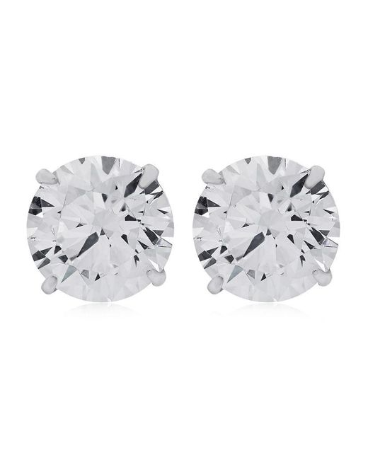 Carat* | Metallic 1ct Eternal Stud Earrings | Lyst