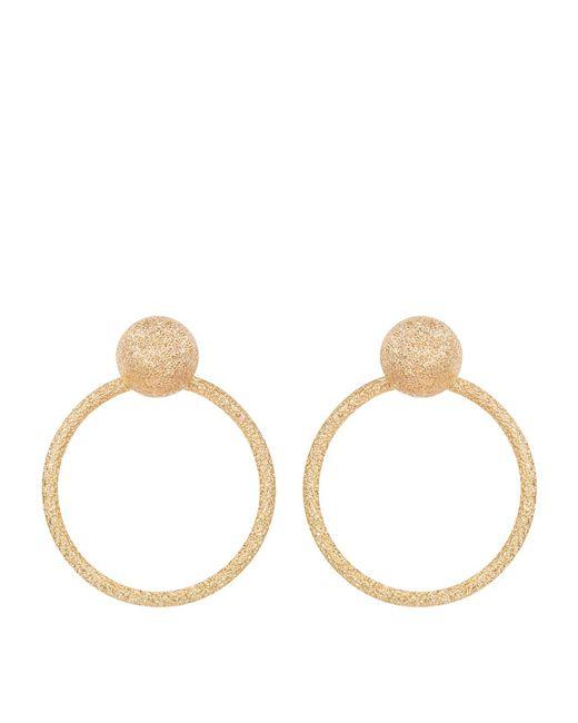 Carolina Bucci - Metallic Yellow Gold Doorknocker Earrings - Lyst