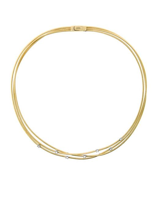 Marco Bicego | Metallic Goa Strand Diamond Necklace | Lyst