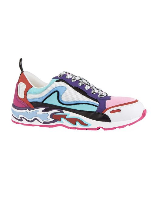 Sandro Pink Flame Sneakers