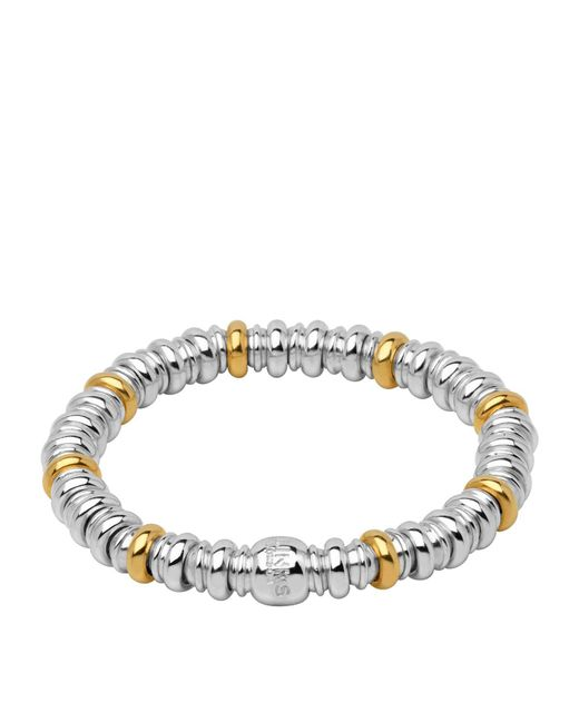 Links of London - Metallic Sterling Silver And Yellow Gold Sweetheart Bracelet - Lyst