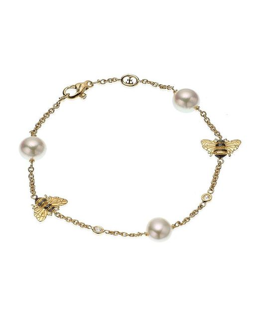 Theo Fennell | Metallic Bee Motif Bracelet | Lyst