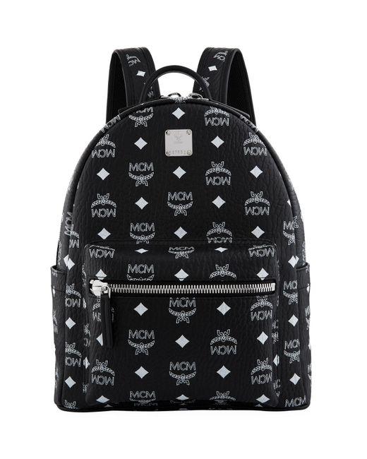 MCM - White Small Stark Backpack - Lyst