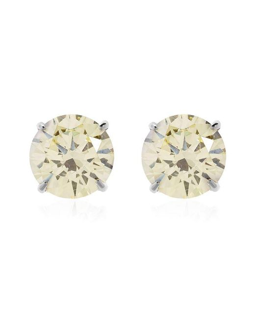 Carat* | Fancy Yellow Eternal Stud Earrings | Lyst