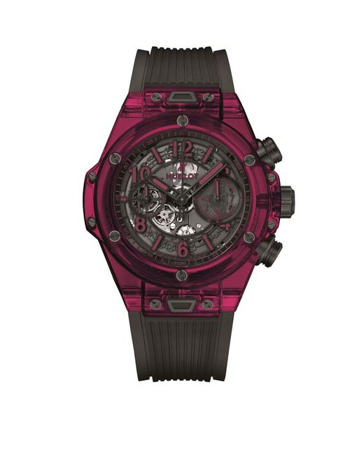 Hublot - Big Bang Unico Chronograph Red Automatic Watch 45mm for Men - Lyst