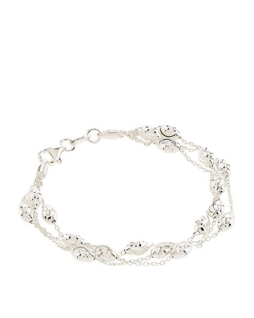 Links of London | Metallic Essentials Beaded Chain Bracelet | Lyst