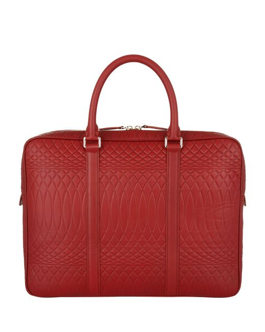 Paul Smith   Red No. 9 Print Laser-cut Briefcase for Men   Lyst