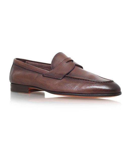Deer Leather In Italian Shoes