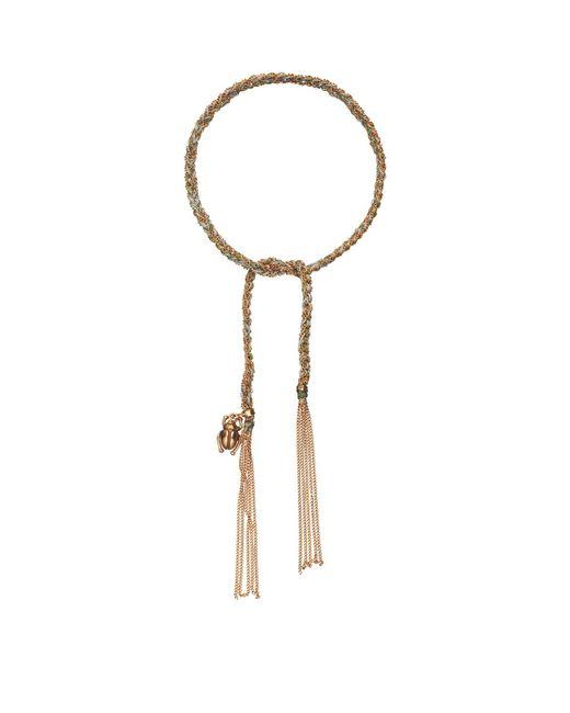 Carolina Bucci - Green Strength Charm Lucky Bracelet - Lyst