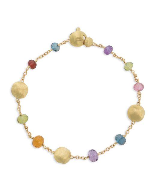 Marco Bicego - Metallic Africa Gemstone Gold Bracelet - Lyst