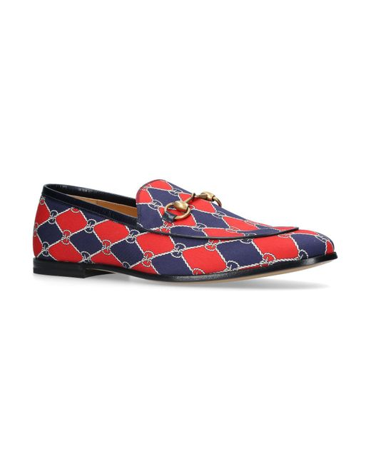 Gucci - Red New Jordan Loafers for Men - Lyst