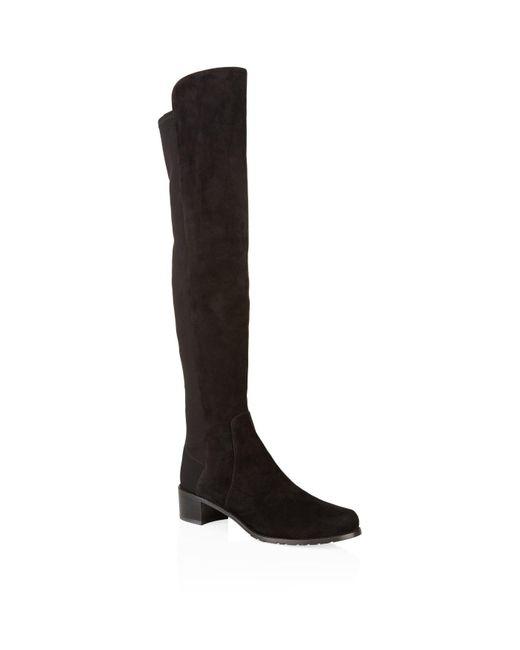 Stuart Weitzman - Black 'reserve' Boots - Lyst