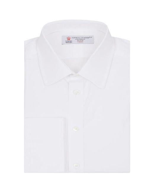 Turnbull & Asser | White Classic Poplin Button Cuff Shirt for Men | Lyst