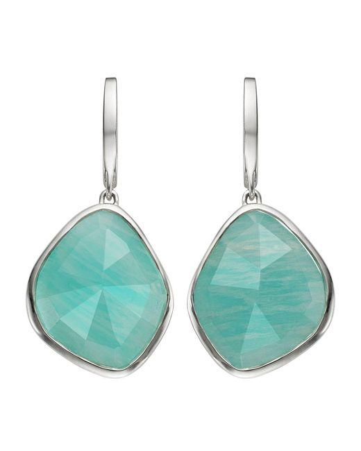Monica Vinader - Metallic Siren Large Nugget Amazonite Earrings - Lyst