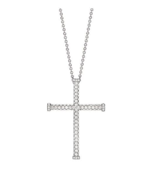Theo Fennell | White Diamond Blaze Cross Pendant | Lyst