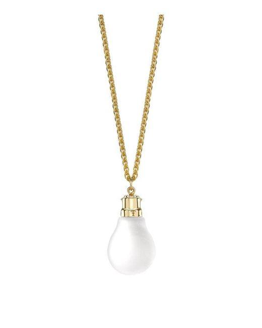 Theo Fennell | Metallic Light Bulb Pendant | Lyst
