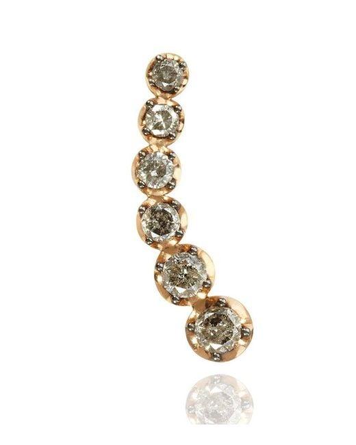 Annoushka | Pink Dusty Diamonds Right Ear Pin | Lyst
