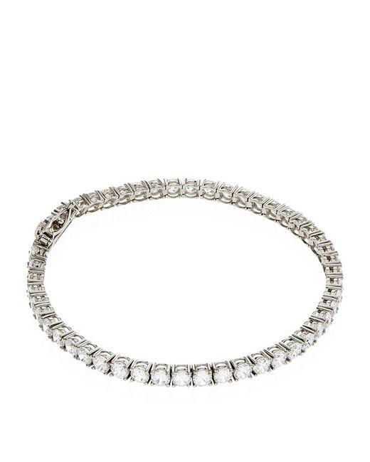 Carat* | Metallic 3.05ct Round Tennis Bracelet | Lyst