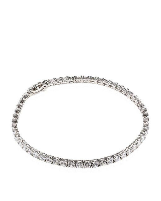 Carat* | Metallic 5ct Round Tennis Bracelet | Lyst