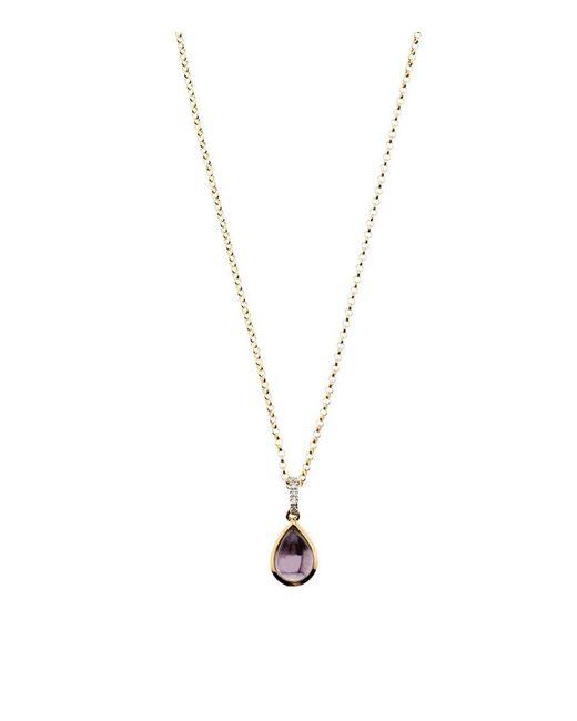 Links of London | Metallic Luna Gems Amethyst Necklace | Lyst