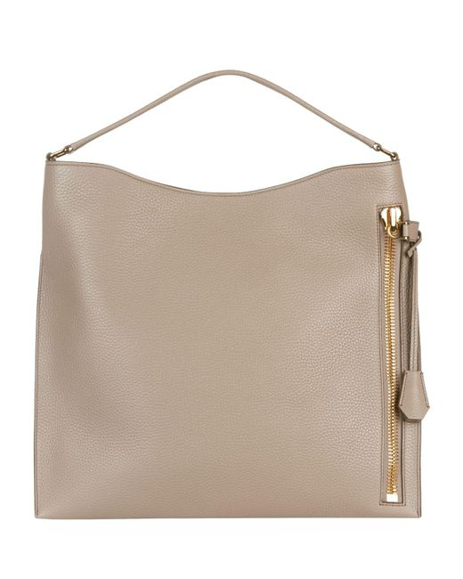 Tom Ford - Natural Medium Alix Hobo Bag - Lyst