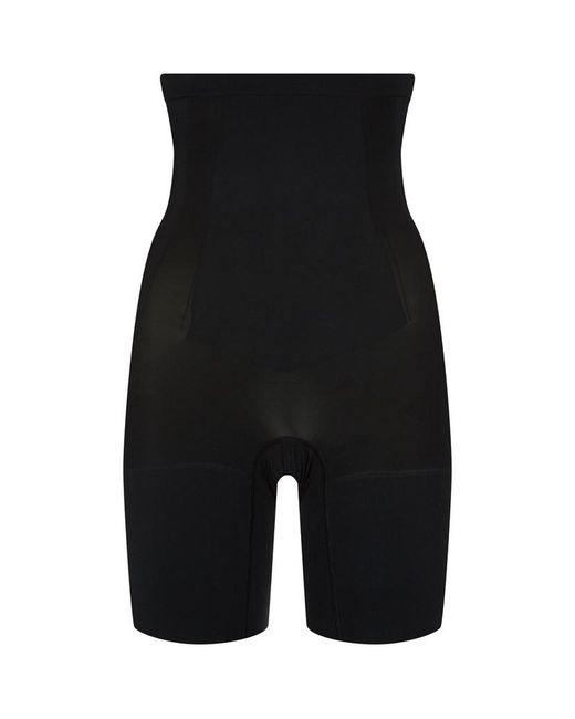Spanx | Black High Waisted Mid-thigh Briefs | Lyst