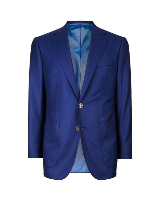 Stefano Ricci | Blue Patch Pocket Blazer for Men | Lyst
