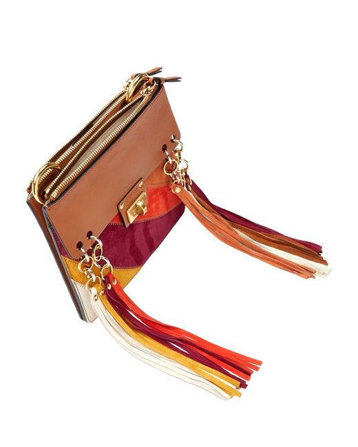 where to buy chloe handbags - Chlo�� Jane Fringed Suede And Leather Cross-body Bag in Beige (TAN ...
