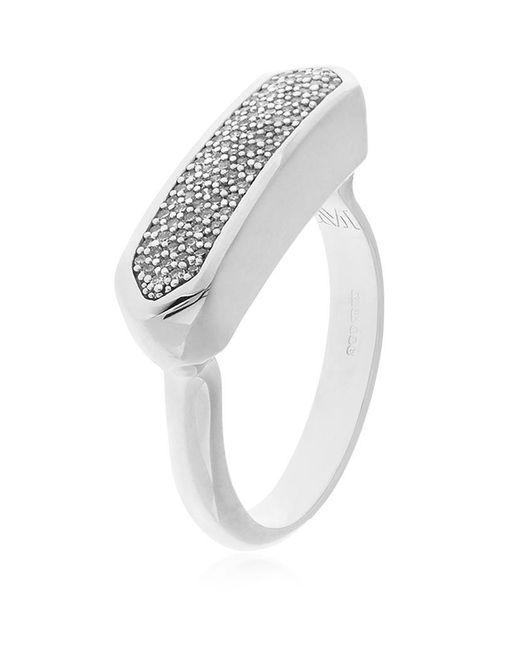 Monica Vinader | Metallic Baja Ring Diamond | Lyst