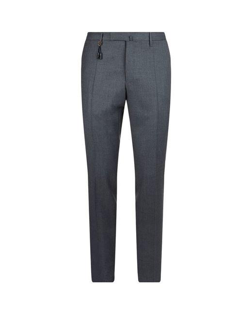 Incotex | Blue Dress Pants for Men | Lyst