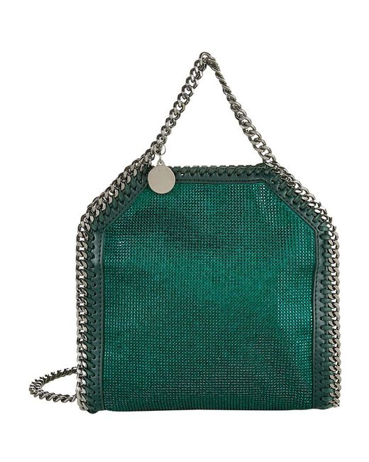 Stella McCartney | Green Tiny 'falabella' Tote | Lyst