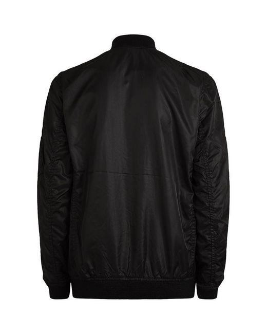 denim supply ralph lauren ma 1 bomber jacket in black lyst. Black Bedroom Furniture Sets. Home Design Ideas
