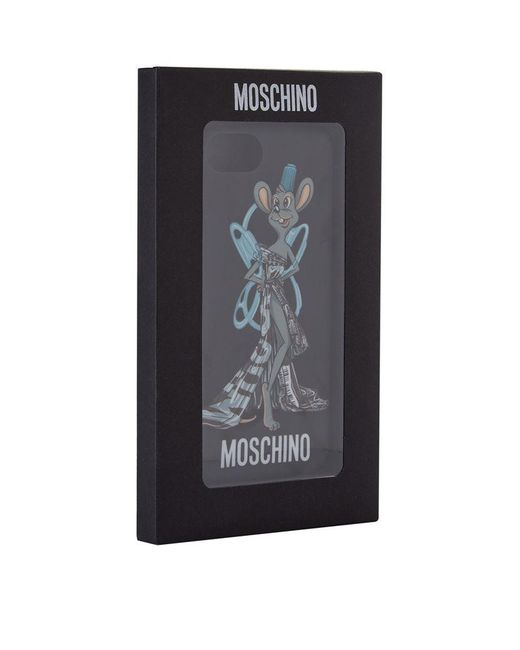 moschino trash mouse iphone 6 6s 7 case lyst. Black Bedroom Furniture Sets. Home Design Ideas